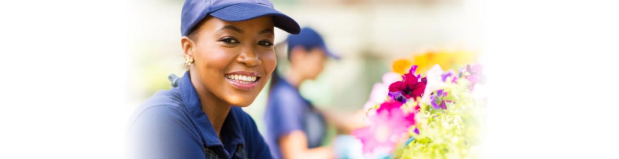 Smiling Florist